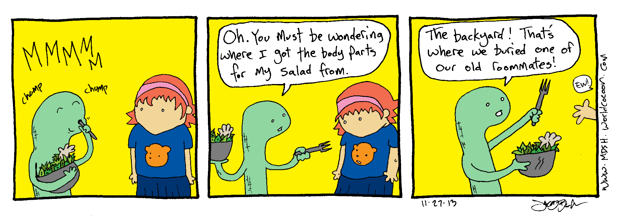 11/27/2013 – come to the salad